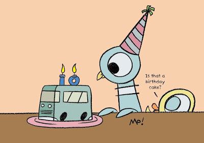 Pigeon.Birthday
