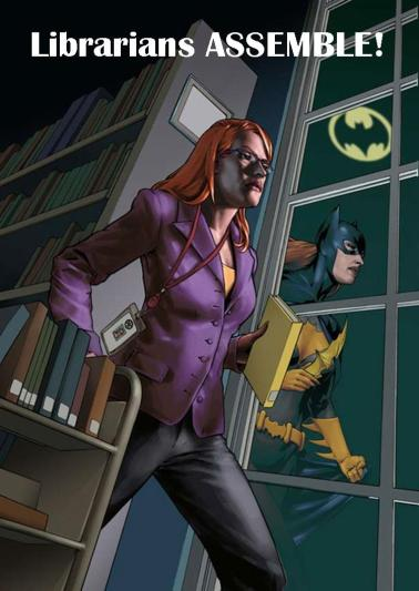 librarians assemble batgirl