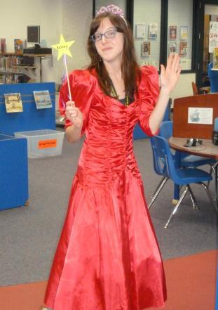 My beautiful red dress.