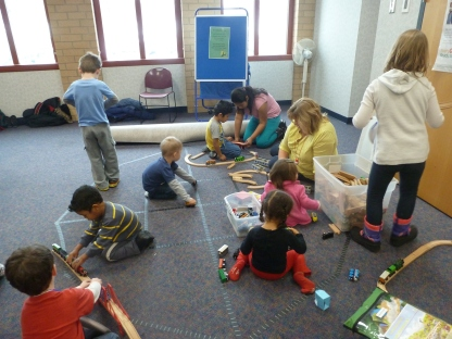 Library Bonanza - Thomas the Tank Engine Program