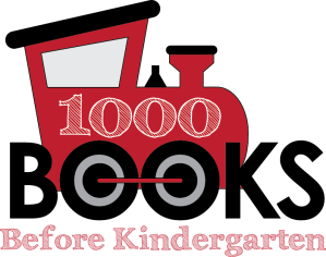 1000Books Train logo